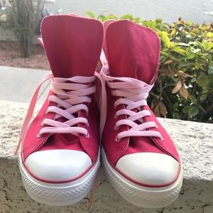 NWOB Pink Converse All Stars